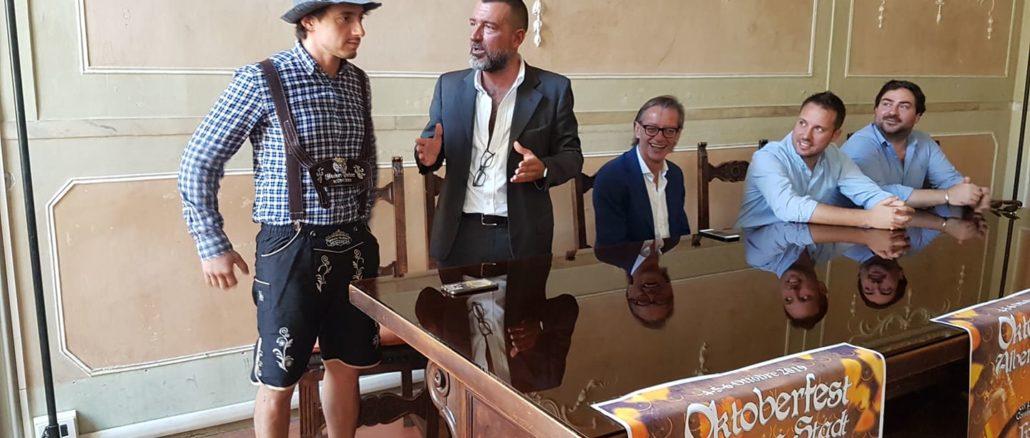 La presentazione della prima Oktoberfest Albenga Stadt