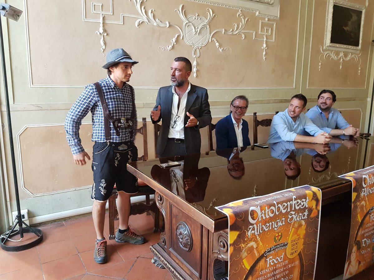 01 Presentazione Oktoberfest Albenga Stadt
