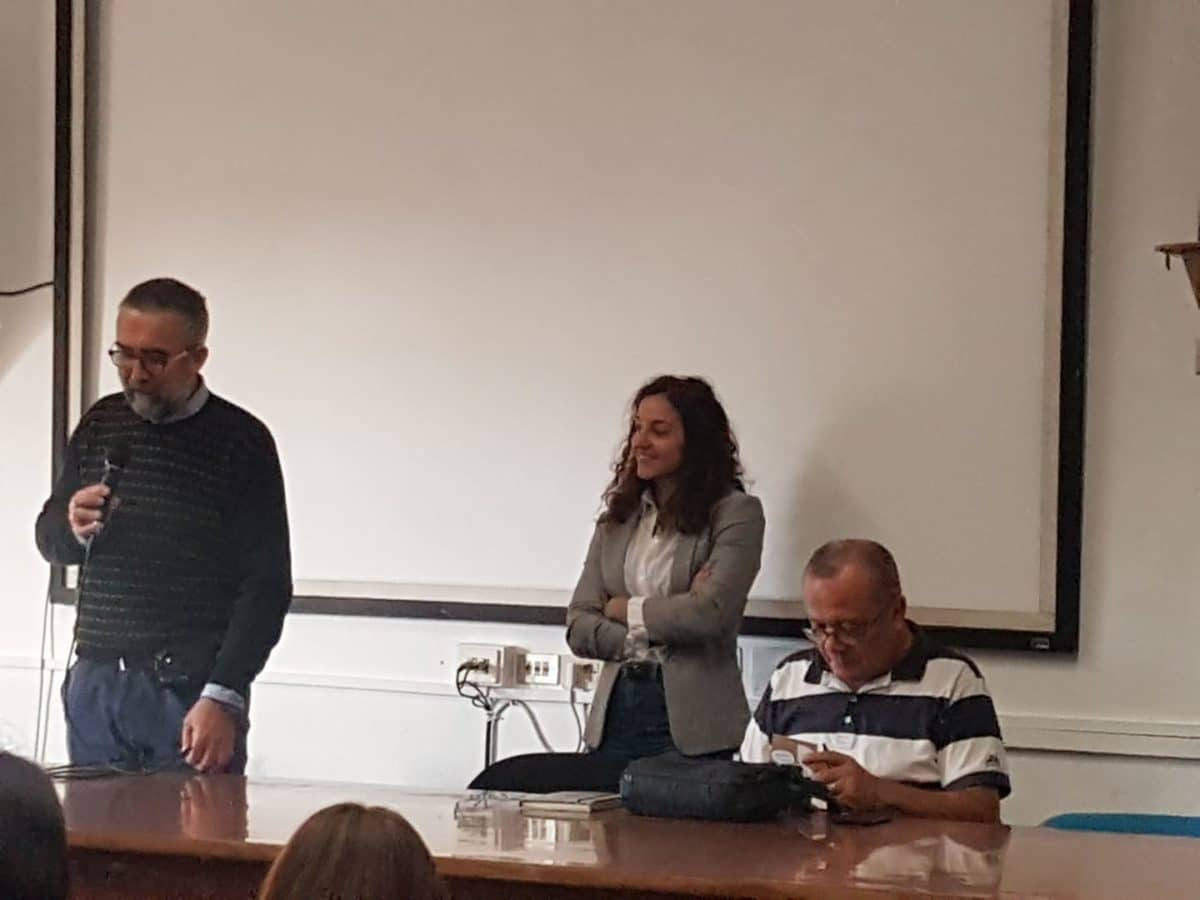 02 Giovanni Impastato alla Sala Conferenze dello YEPP – Centro Giovani di Albenga