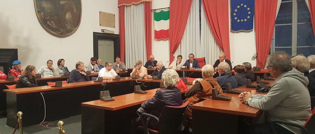 Incontro in Comune per Albenga Medaglia d'oro al merito civile
