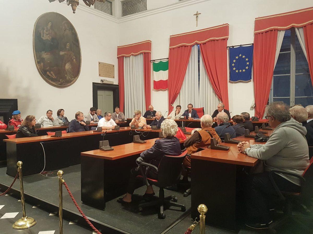 02 Incontro in Comune Albenga Medaglia oro al merito civile