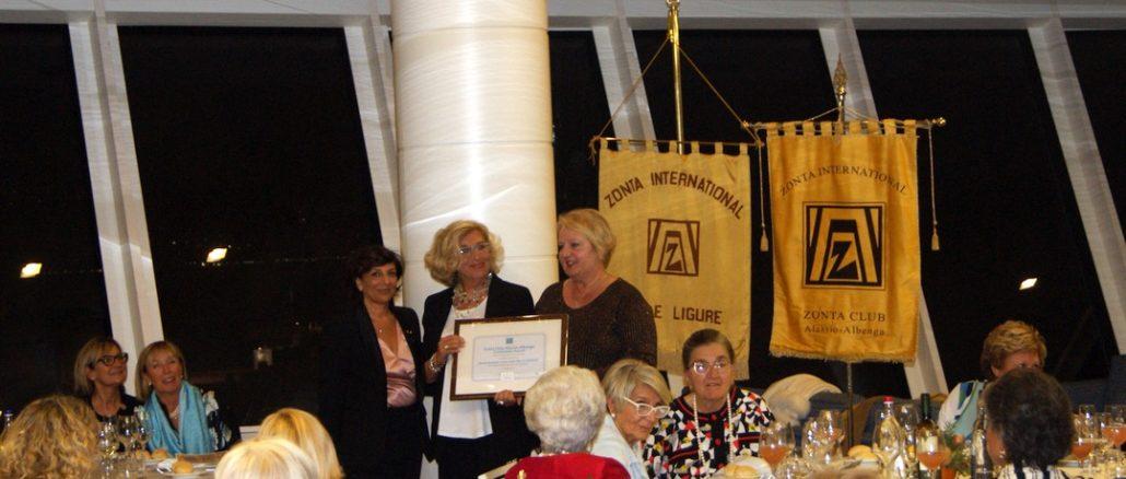 Zonta club Alassio Albenga e Finale Ligure festeggiano i 100 anni di Zonta International