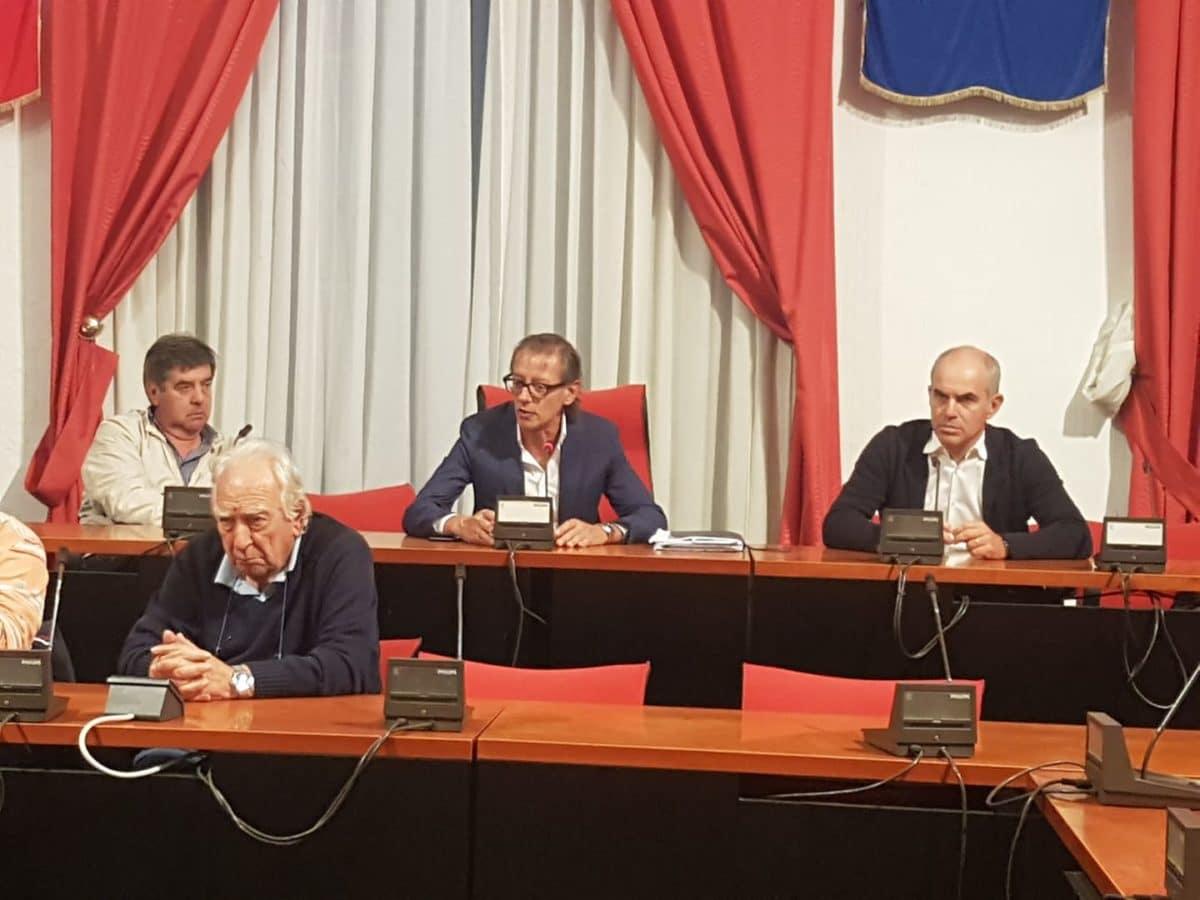 03 Incontro in Comune Albenga Medaglia oro al merito civile