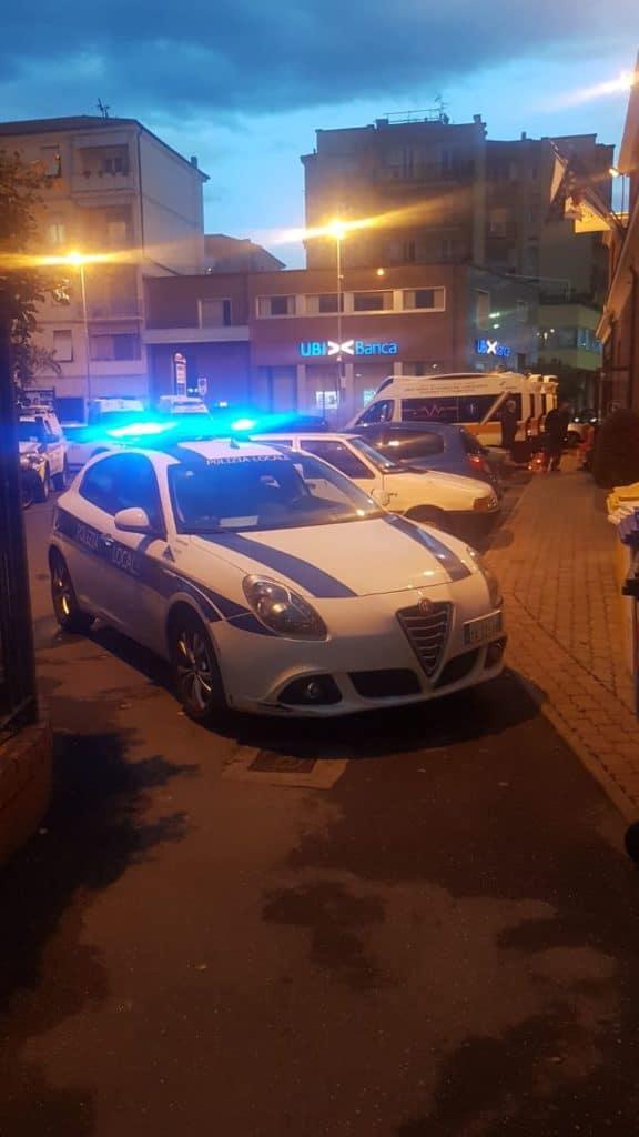 03 Polizia locale di Albenga in azione