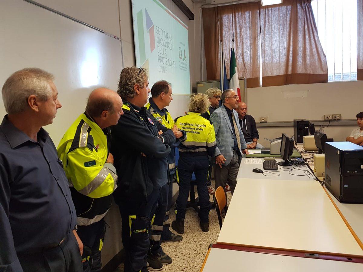 03 Protezione civile incontro Itis di Albenga
