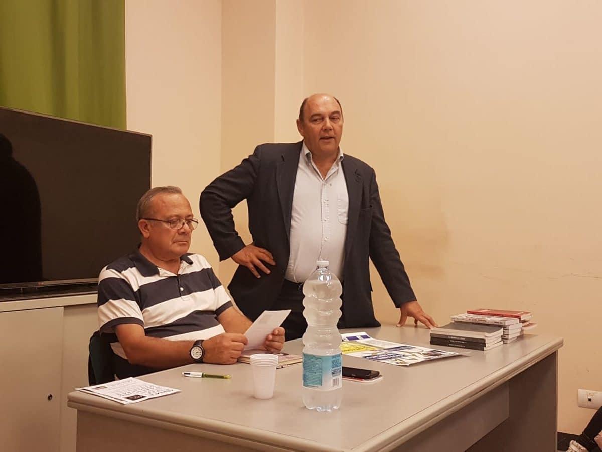 04 Giovanni Impastato alla Sala Conferenze dello YEPP – Centro Giovani di Albenga
