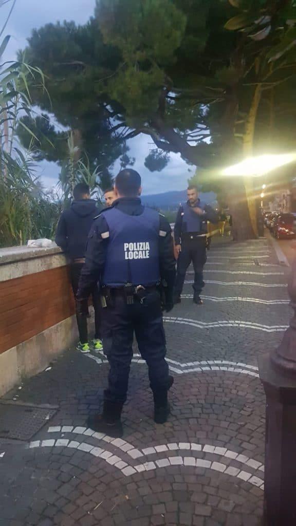 04 Polizia locale di Albenga in azione