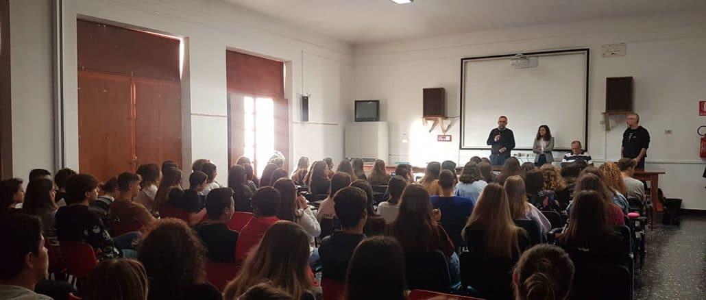 Giovanni Impastato alla Sala Conferenze dello YEPP – Centro Giovani di Albenga