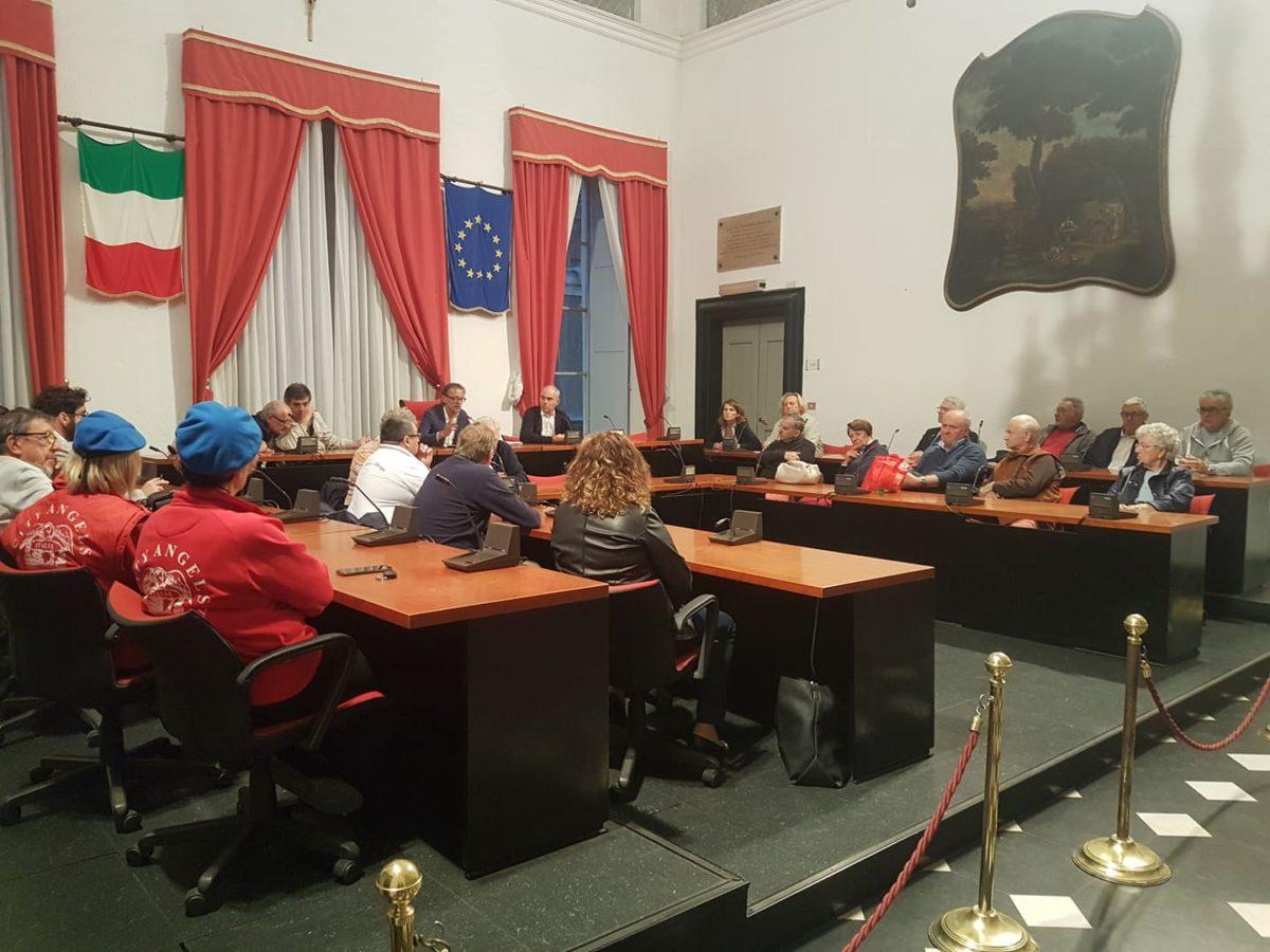05 Incontro in Comune Albenga Medaglia oro al merito civile