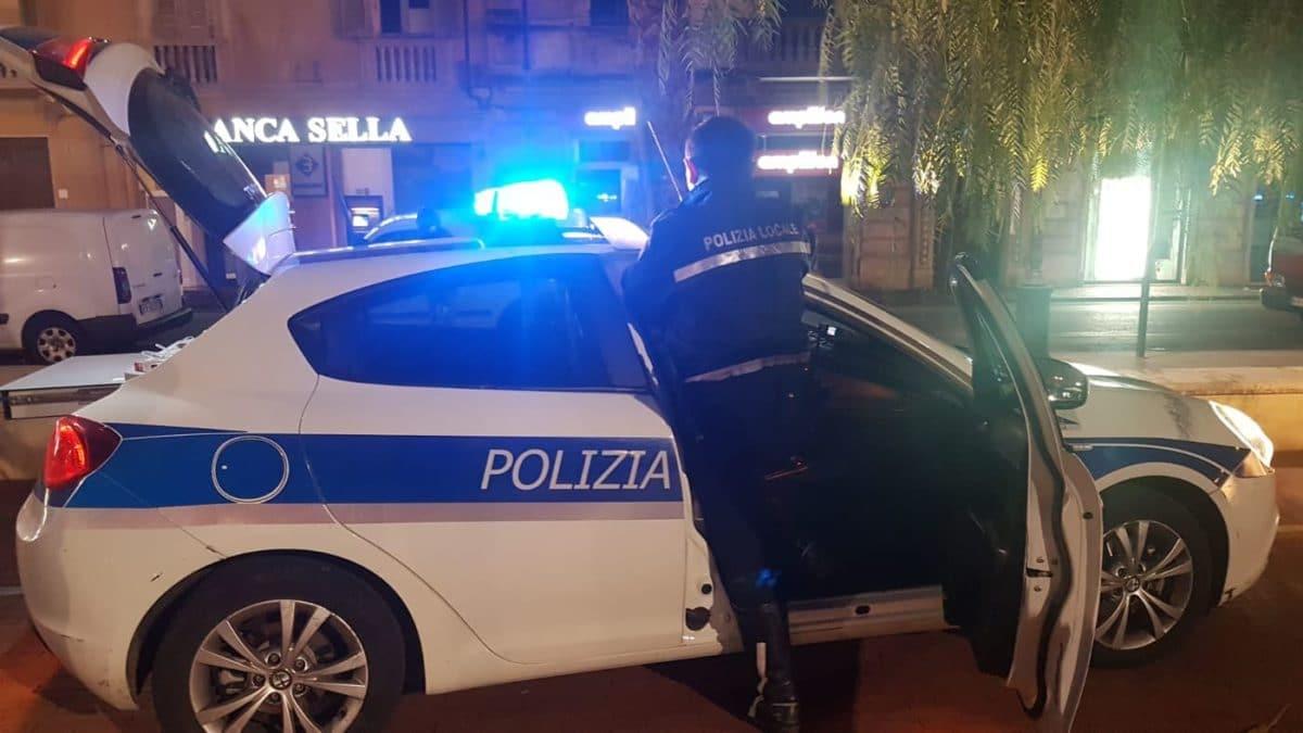 05 Polizia locale di Albenga in azione