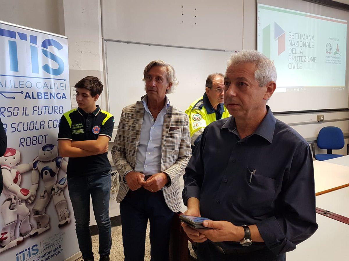 05 Protezione civile incontro Itis di Albenga