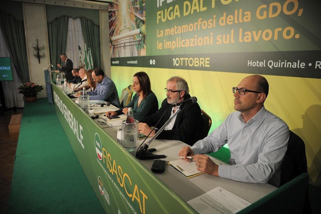 06 Consiglio generale della Fisascat Cisl a Roma