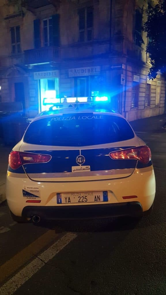 06 Polizia locale di Albenga in azione