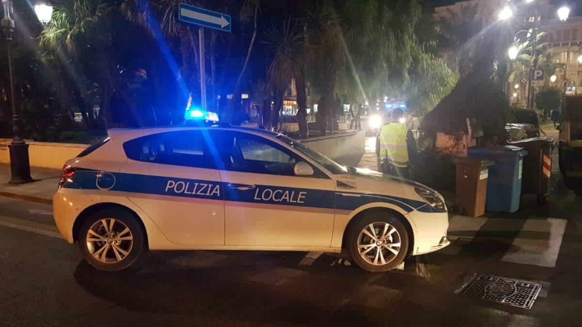 07 Polizia locale di Albenga in azione