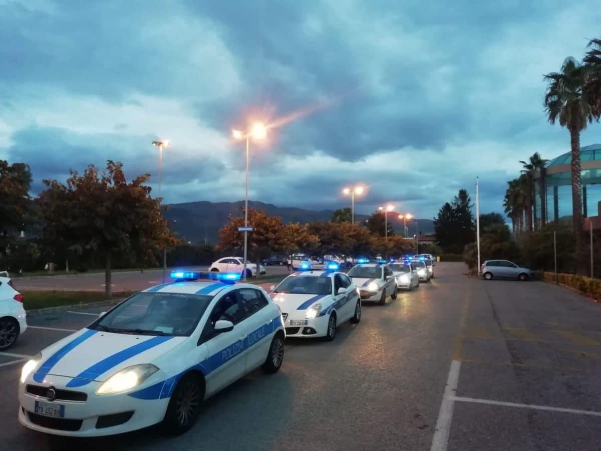 08 Polizia locale di Albenga in azione
