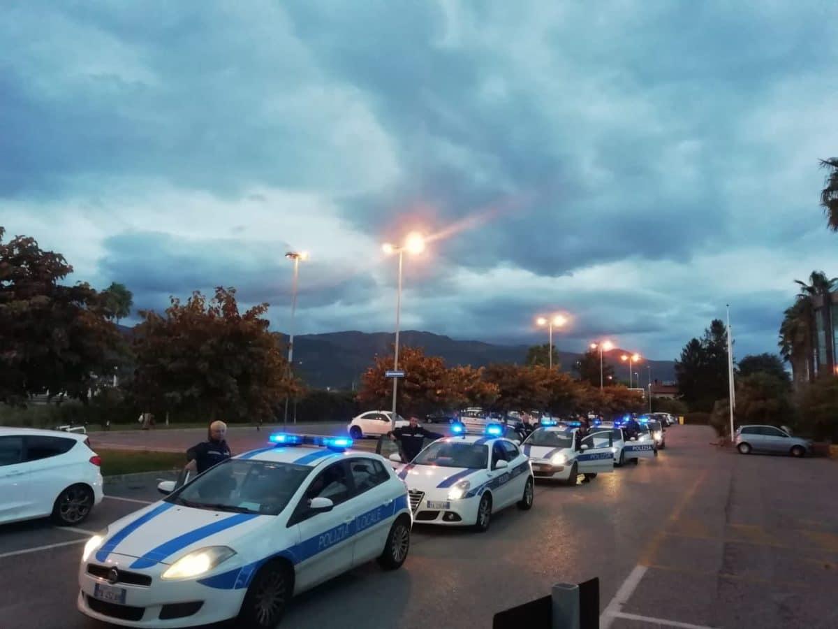 09 Polizia locale di Albenga in azione