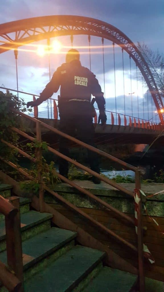 10 Polizia locale di Albenga in azione