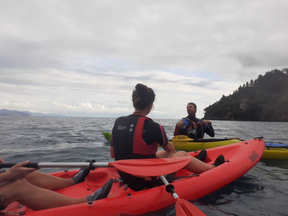 2019 10 17 kayak tour Portofino 1