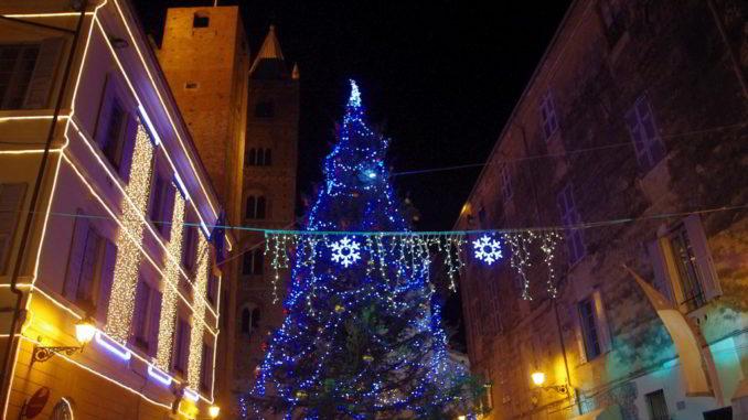 Allestimenti natalizi ad Albenga