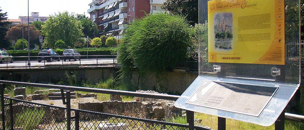 Area Archeologica San Vittore ad Albenga - effe