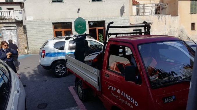 Bici e Moto rimosse ad Alassio