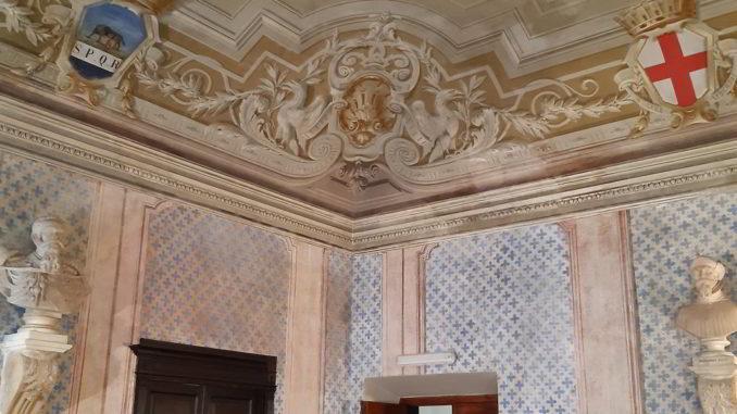 Busti di Santo Varni sala Palazzo Comunale Albenga