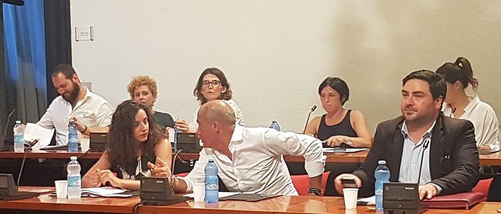 Camilla Vio in Consiglio Comunale Albenga