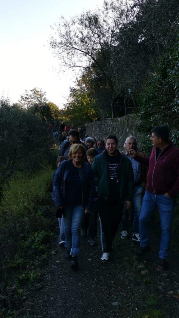 Camminata tra gli ulivi ad Andora 01