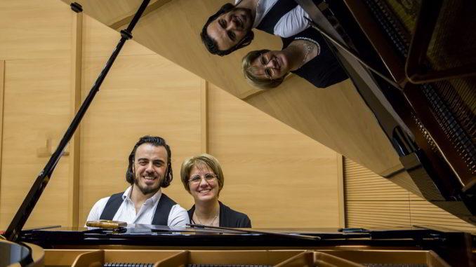 Emanuele Cedrone e Livia Rigano