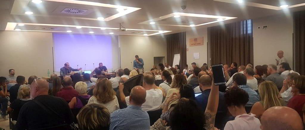 Vertenze Conad Auchan Delegazione Sindacale a Roma