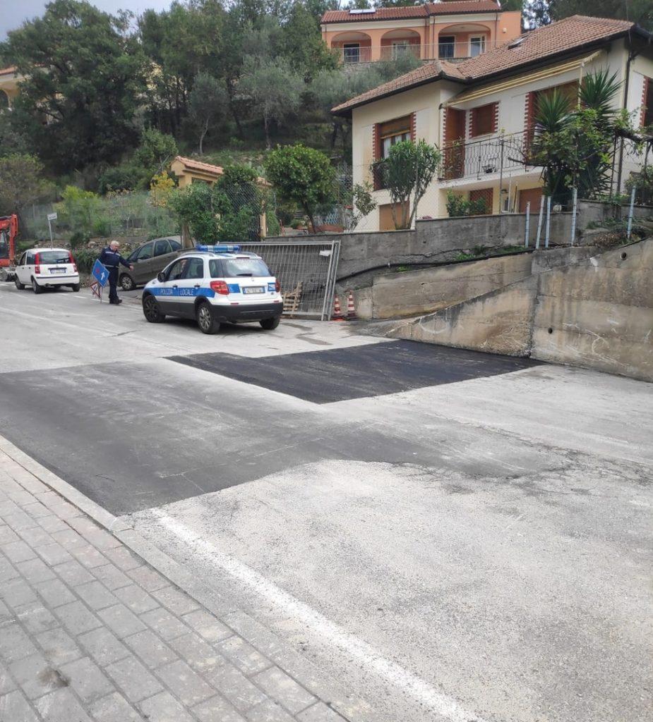 Conclusi a Loano i lavori Strada per Verzi 02