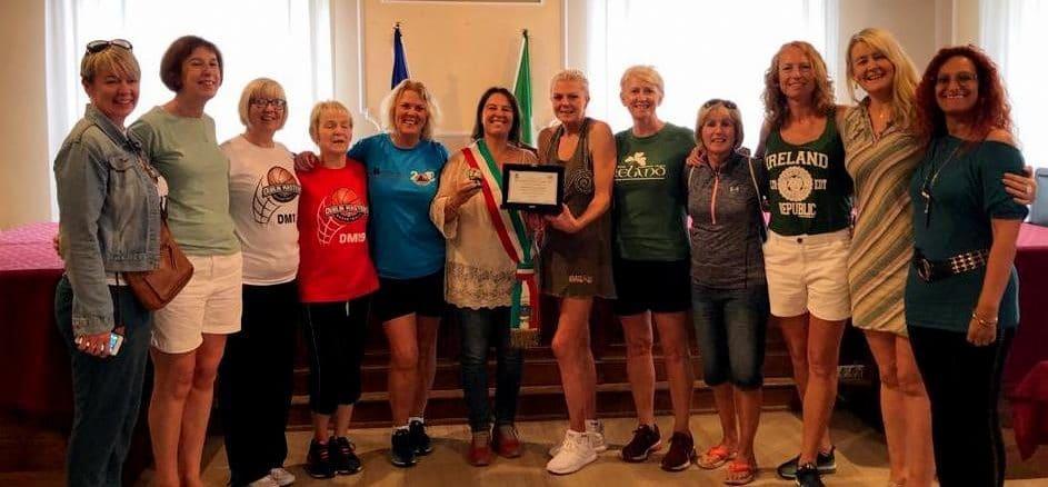 Cork Ladies ricevute nel Comune di Alassio dal consigliere Roberta Zucchinetti