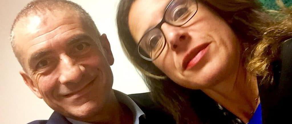 Ancrea Costa e Ilaria Cavo