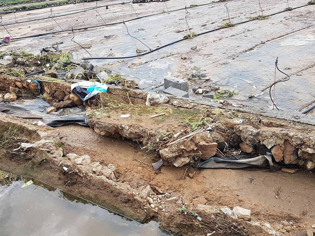 Crollo muro via del cristo ad Albenga 04