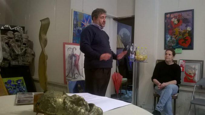 Ennio Bestoso professore alla Punto Arte di Albenga