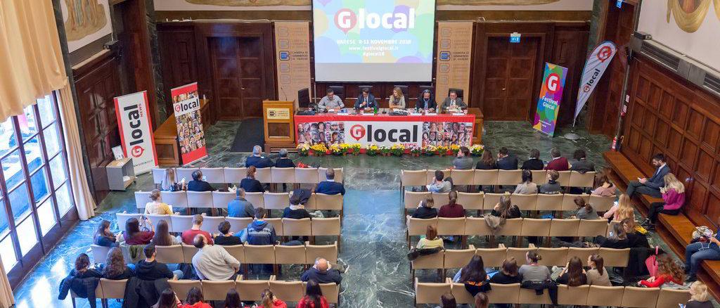 Festival Glocal a Varese Sala incontri