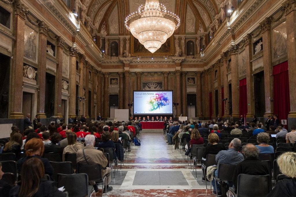 Genova il Festival della Scienza