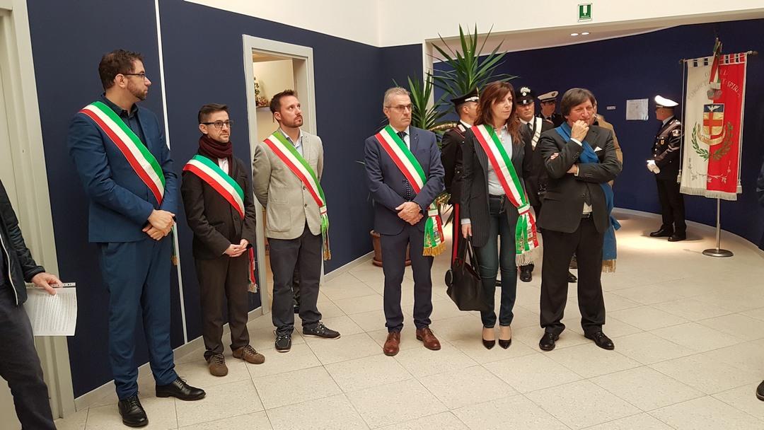 Inaugurazione scultura Finotti a Borghetto 01