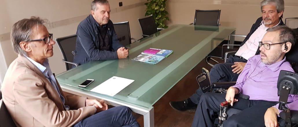 Incontro il sindaco di Albenga e rappresentanti Uildm
