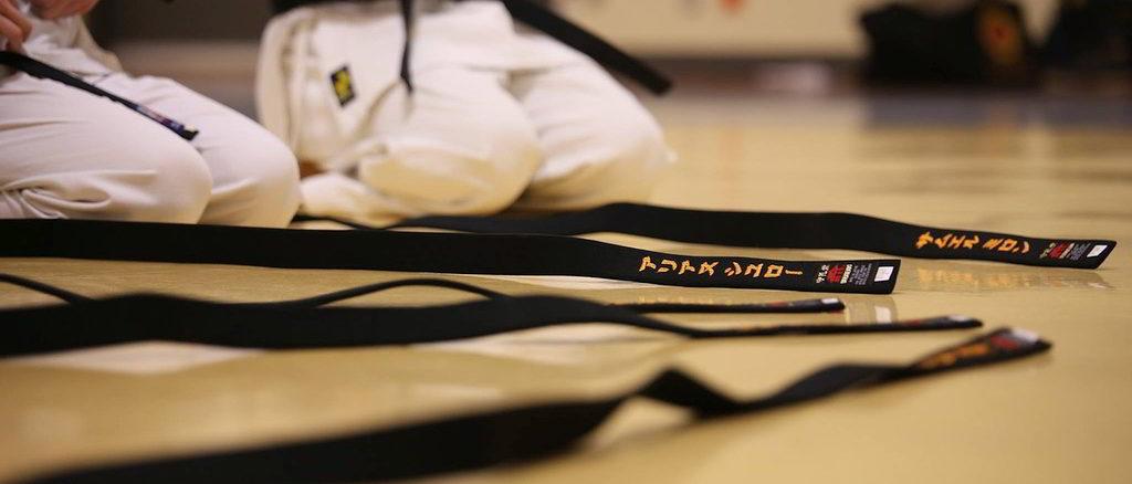 Karate cinture nere