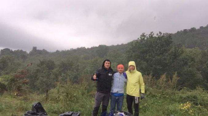 Krav Maga Parabellum di Loano pulisce sentiero a Boissano
