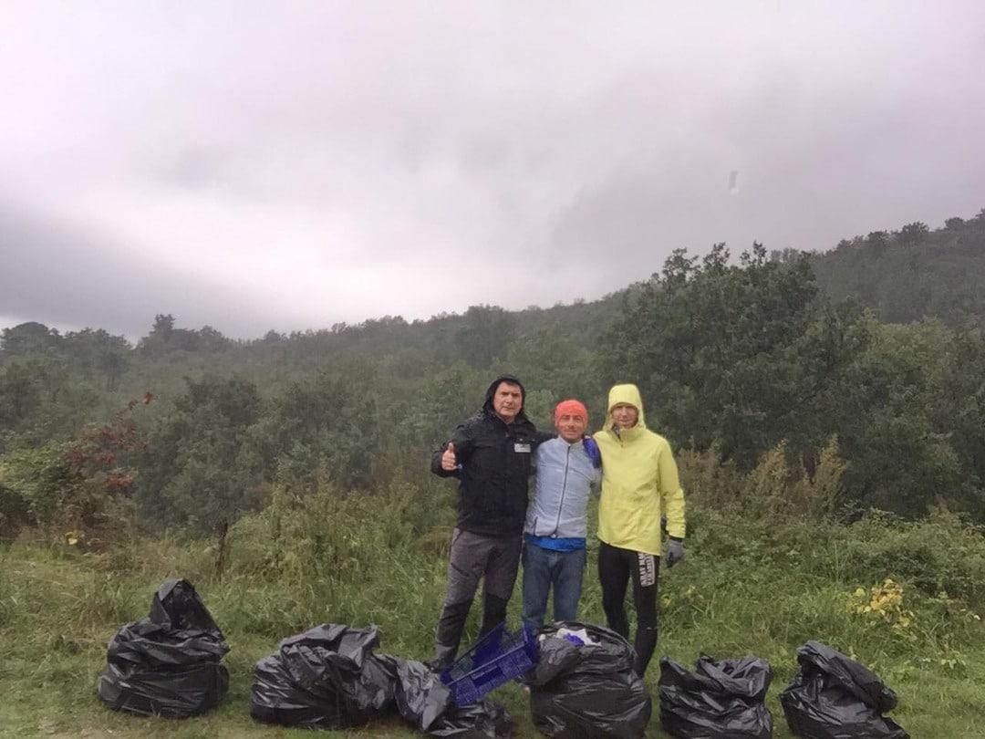 Krav Maga Parabellum di Loano pulisce sentiero a Boissano 03