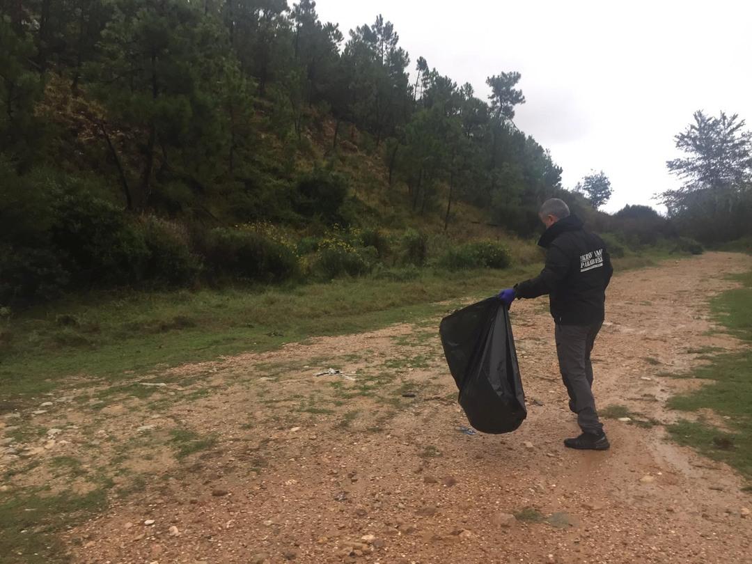 Krav Maga Parabellum di Loano pulisce sentiero a Boissano 05