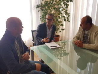 LaerH incontro con sindaco di Albenga Tomatis