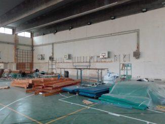 Lavori in una palestra provincia di Savona