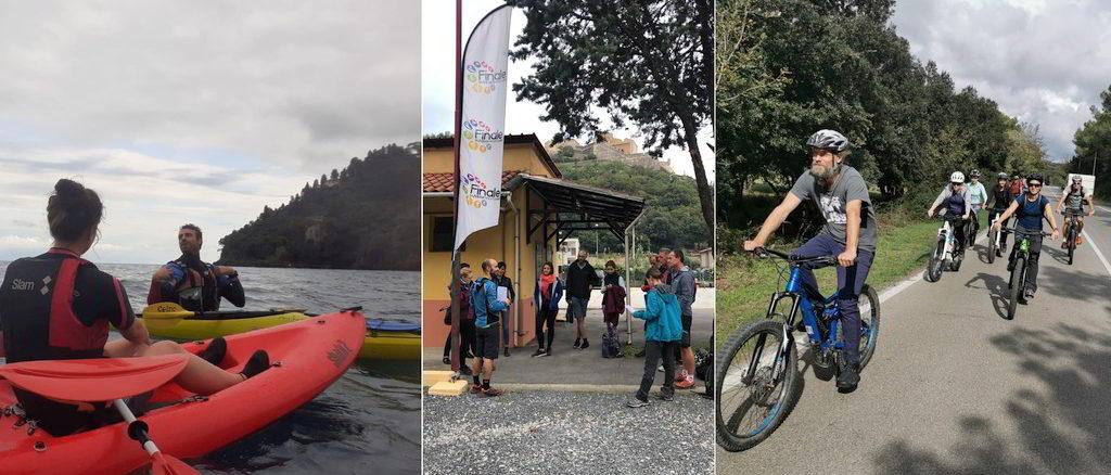 Outdoor in Liguria a Finale Ligure e Portofino