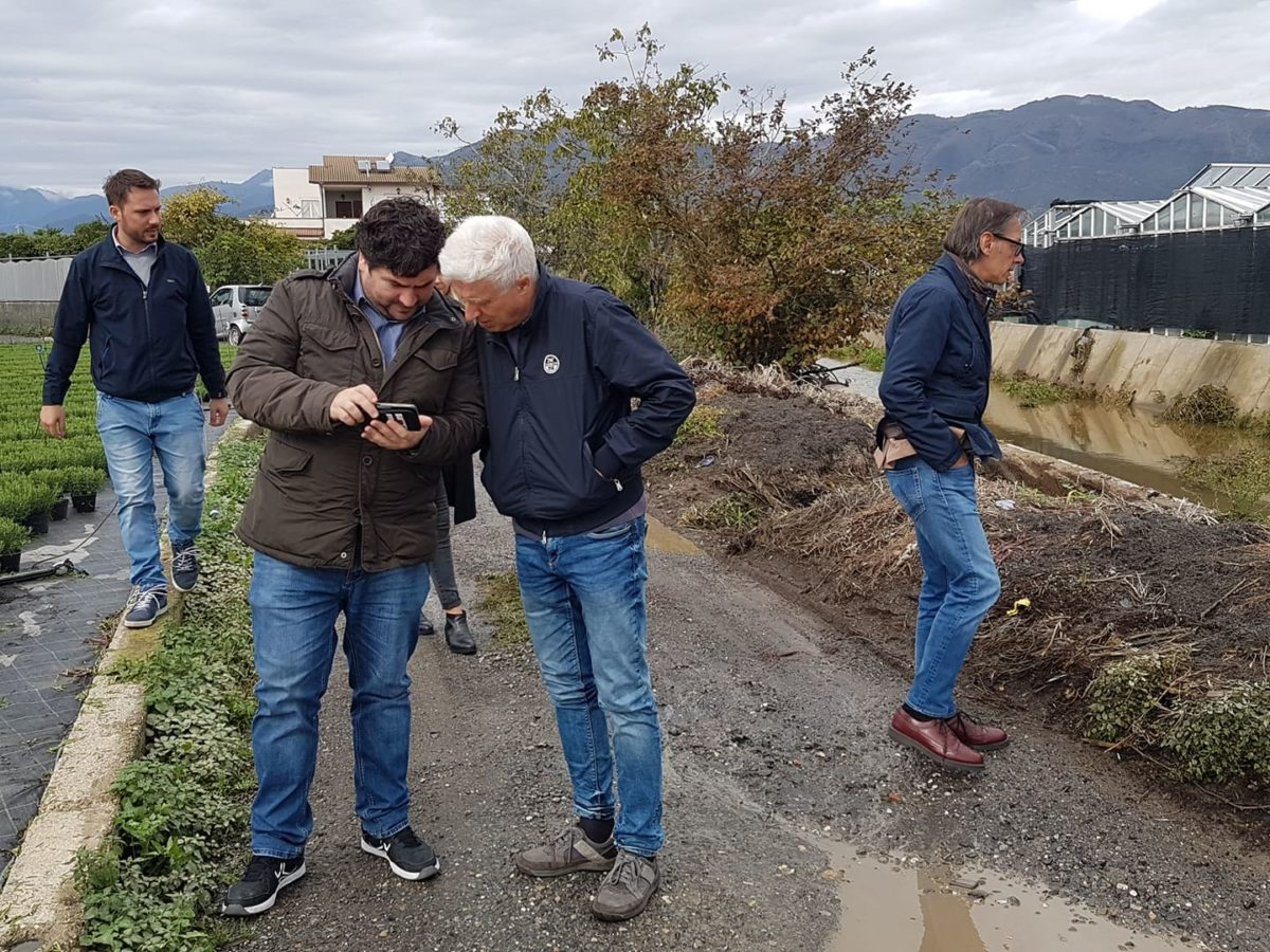 Maltempo Liguria sopralluoghi ad Albenga 21 ottobre 2019 03