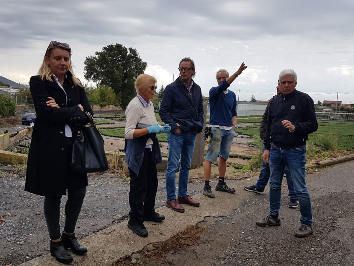 Maltempo Liguria sopralluoghi ad Albenga 21 ottobre 2019 09