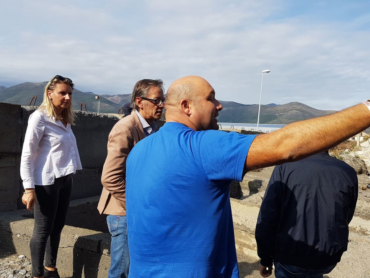 Maltempo Liguria sopralluoghi ad Albenga 21 ottobre 2019 11