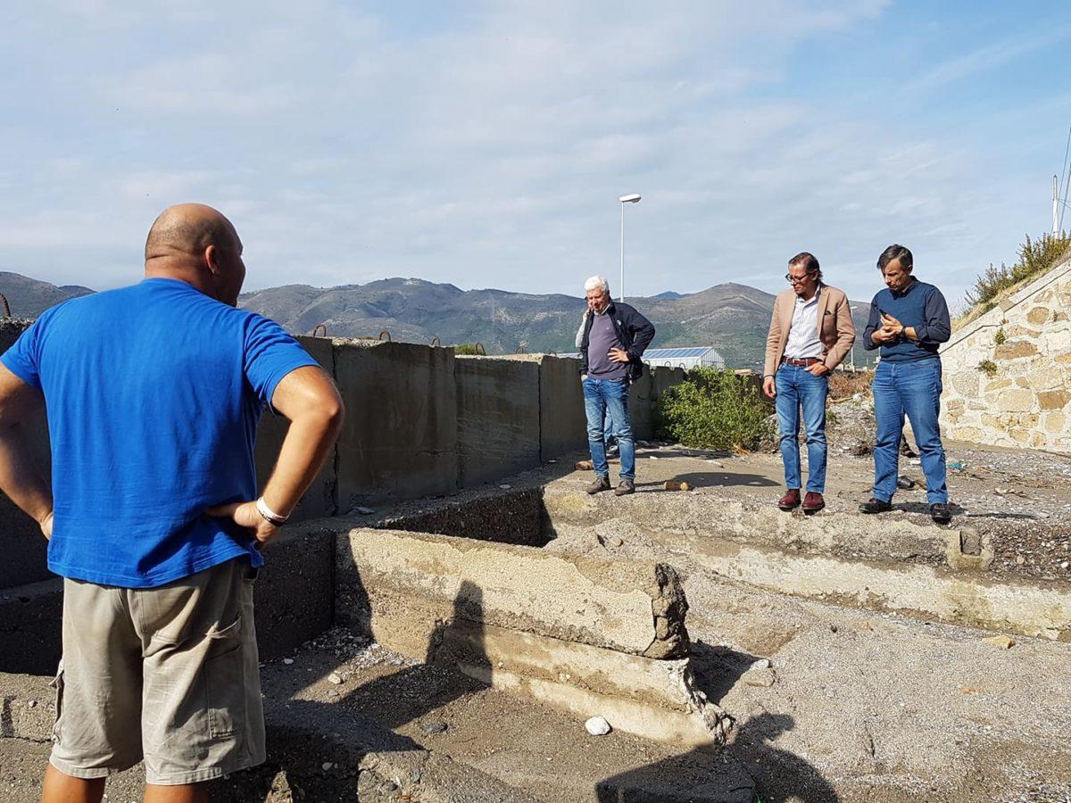Maltempo Liguria sopralluoghi ad Albenga 21 ottobre 2019 12
